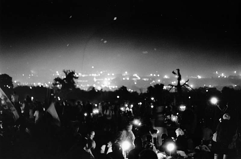 Glastonbury Festival photographed by James Boyer Smith.